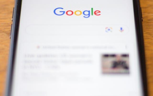 Google finalmente está dando un corte a los pequeños