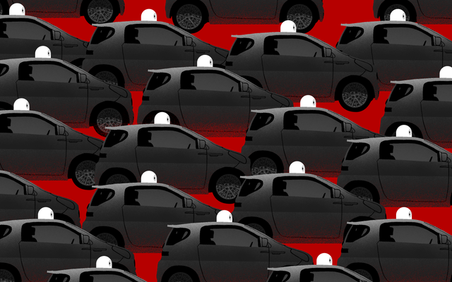 La congestión inducida por Uber y Lyft ofrece una vista previa del infierno de automóviles sin conductor