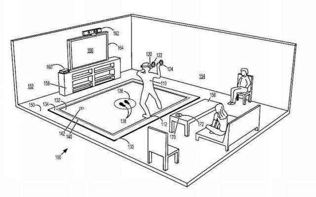 Microsoft a déposé un brevet pour une réalité virtuelle ... Mat?