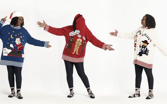 Whoopi Goldberg wraca ze swoimi ładnymi, głupimi świątecznymi swetrami