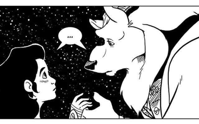 この神秘的なウェブコミックは、美女と野獣に新鮮な命を吹き込みます