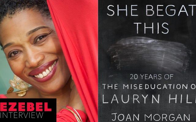जोआन मॉर्गन ने अपनी नई किताब और लॉरिन हिल की मेसेडिडिया के 20 वर्षों में