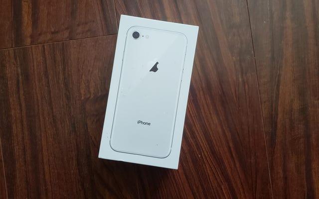 Un iPhone 8 en parfait état du marché arrière a tué ma peur d'acheter une remise à neuf