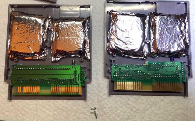 Game Collector trouve des drogues cachées dans les cartouches NES
