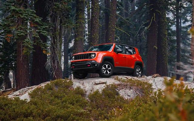 Je suis devenu fasciné par le Jeep Renegade