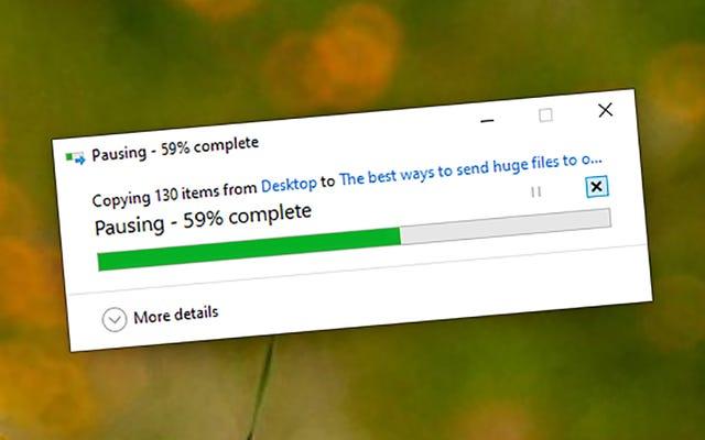 巨大なファイルを他の人に送信するための最良の方法