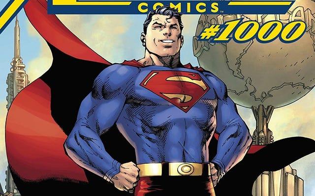 Action Comics # 1000 - мощная дань непреходящему наследию Супермена