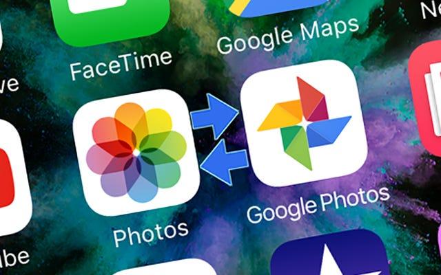 Cách di chuyển thư viện ảnh của bạn giữa Apple Photos và Google Photos