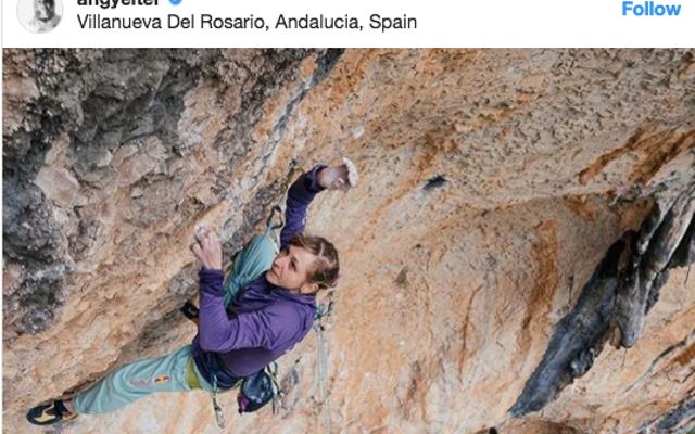 オーストリアの女性が地球上で3人目の人物になり、非常に危険なスペインの登山を完了する