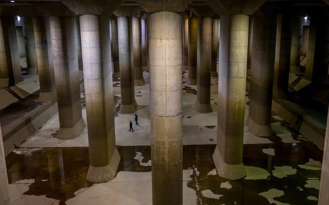 Это самый большой подземный резервуар для воды в мире.