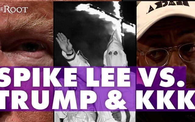 スパイク・リーがデービッド・デュークのお気に入りの大統領政権をKKKと比較