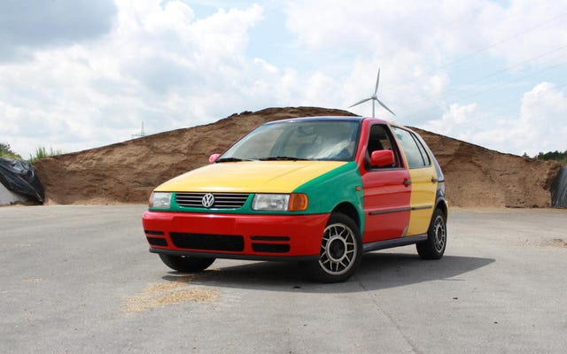 Już teraz zacznij planować import tego Volkswagena Polo Harlekin