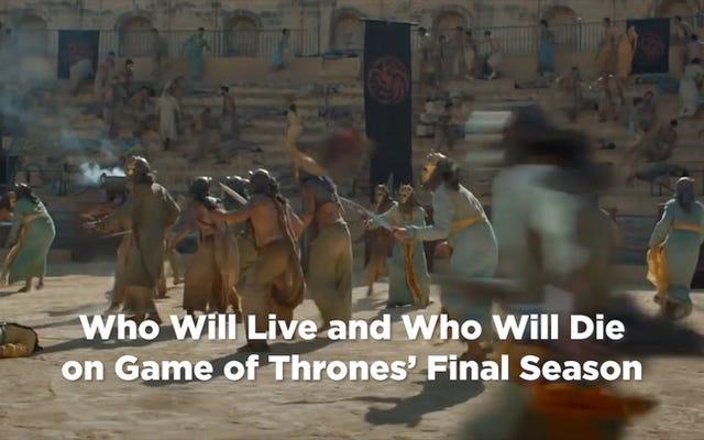 Musim Terakhir Game of Thrones: Daftar Pasti Setiap Orang yang Akan Hidup atau Mati