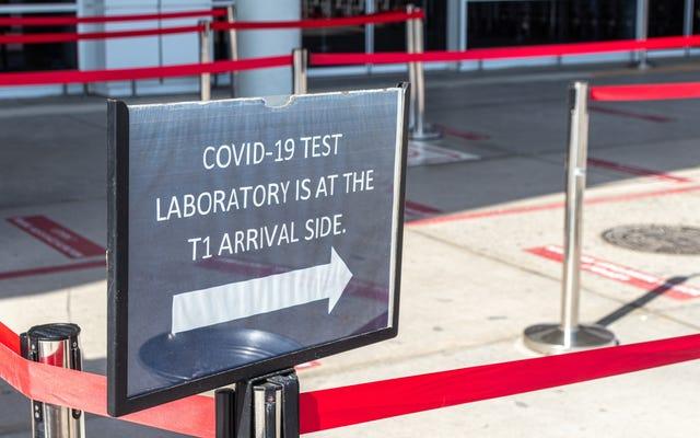 Эти аэропорты теперь предлагают тестирование на COVID на месте