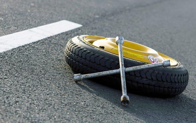Quando metti aria nei pneumatici, controlla i ricambi