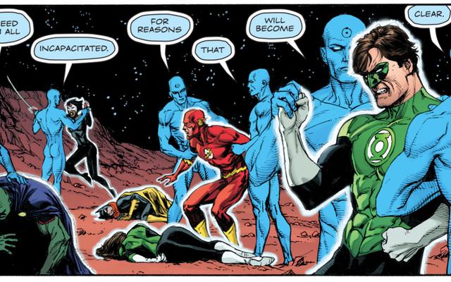 डॉक्टर मैनहट्टन डूम्सडे क्लॉक में सुपरफाइंड सुपरमैन