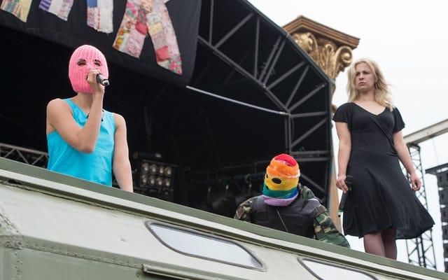 プッシー・ライオットが初の米国ツアーを発表