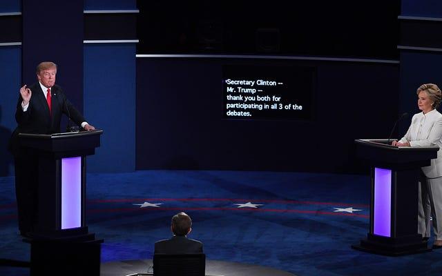 Kiểm tra tính xác thực của cuộc tranh luận cuối cùng của tổng thống với những cuộc tranh luận này