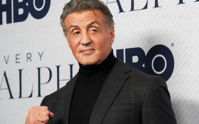 Il nostro invito all'hangout di Stallone con Pacino, Arnold e Guy Fieri deve essersi perso nella posta