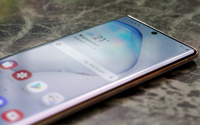 Samsungは、GalaxyS10およびNote10で指紋センサーの障害を回避する方法を説明しています