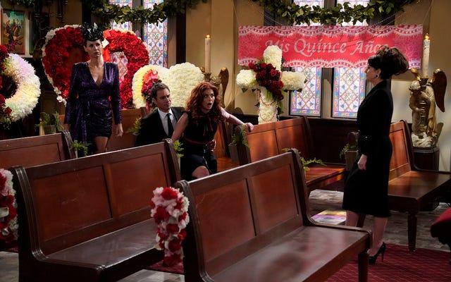 Les adieux de Will & Grace à un personnage bien-aimé ne donnent à Karen qu'une chance de briller