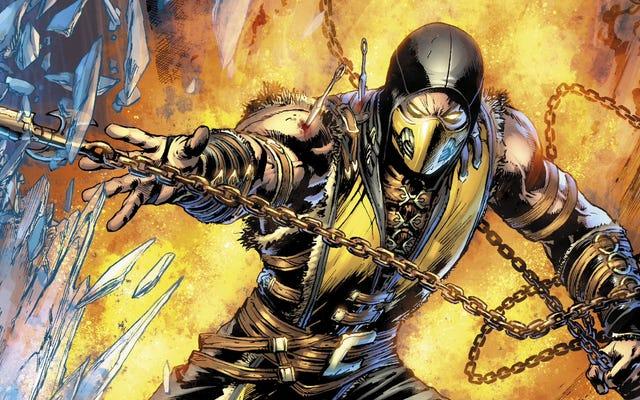 Nowy komiks Mortal Kombat nie jest nawet zły w dobry sposób