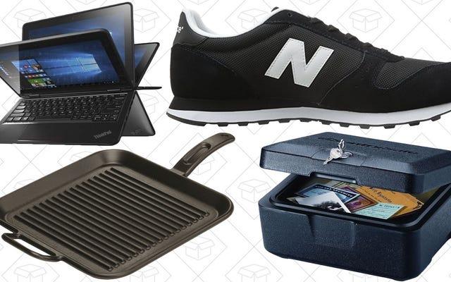 Dzisiejsze najlepsze oferty: Thinkpad 290 USD, Lodge Grill Pan, trampki New Balance