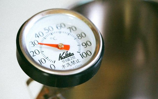 ทำไมคุณต้องมีเครื่องวัดอุณหภูมิอาหารแบบอนาล็อกราคาถูก