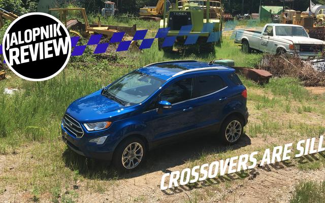La Ford EcoSport Titanium 2018 è un buon promemoria del fatto che gli esseri umani sono irrazionali