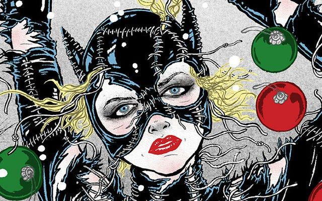 Batman Returns nunca pareceu tão bom quanto neste incrível pôster de mulher-gato