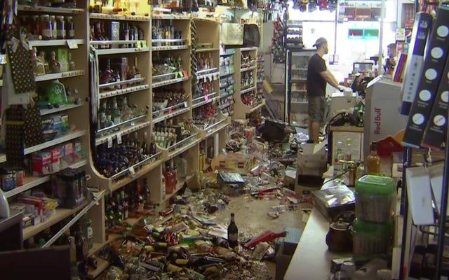 南カリフォルニアのマグニチュード7.1の地震は、2日間で2番目に大きな地震です