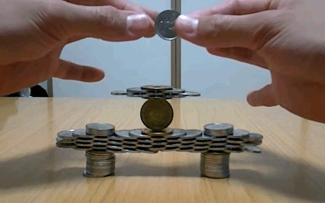 これらの素晴らしいコイン構造は接着剤フリーです