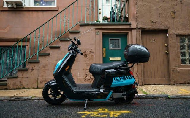 NYCはRevelスクーターを彼らが属する地獄に送ります