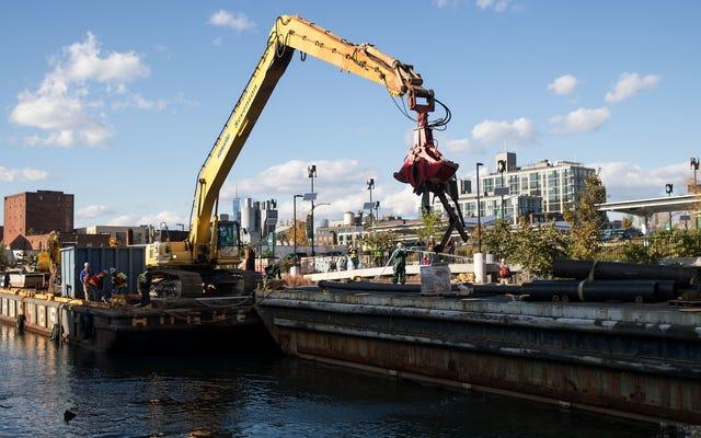 NYCガベージ運河がその本質を取り戻す