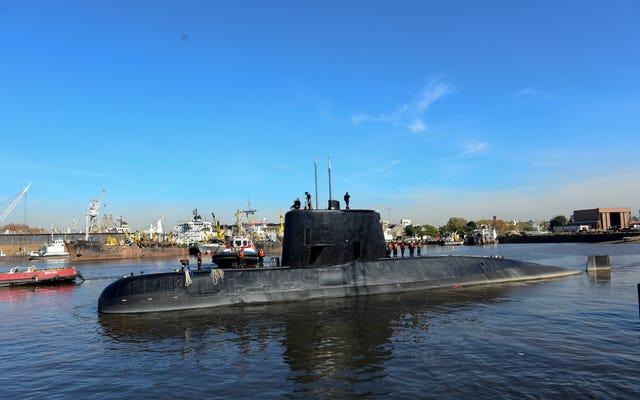 米国海軍は、行方不明のアルゼンチンの潜水艦である可能性のある「熱汚れ」を検出します