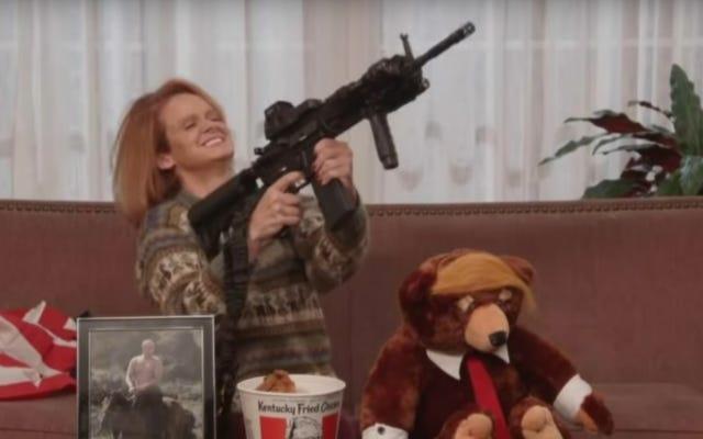 Jimmy Kimmel schafft es irgendwie, Trumpy Bear noch aufregender zu machen