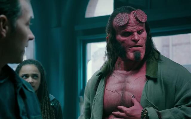 Hellboy peut enfin dire de mauvais mots maintenant que son nouveau film a une cote R