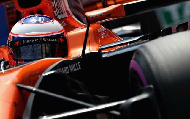 ホンダのF1エンジンの重要なコンポーネントの1つは2レースしか持続できません
