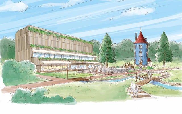 Pierwsze spojrzenie na nowy park rozrywki Muminków w Japonii