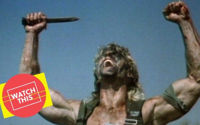 Si vous ne voulez pas voir un gars se faire tabasser avec son propre bras coupé, aimez-vous même les films d'action?