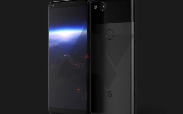 新しいGooglePixel 2 XLのデザインはフィルタリングされています:「絞る」ことができるベゼルなしの6インチ