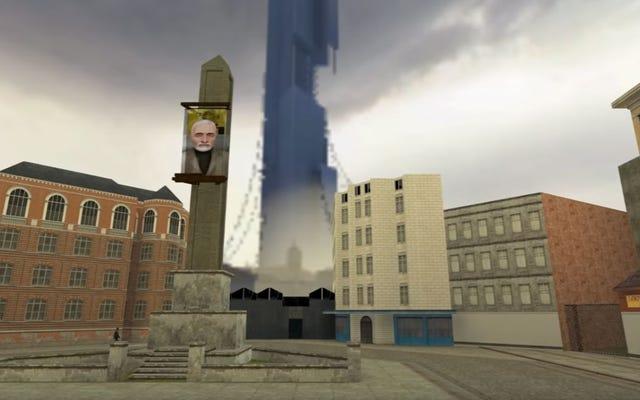 Half-Life2はHalf-Life1のエンジンでデマデスされています