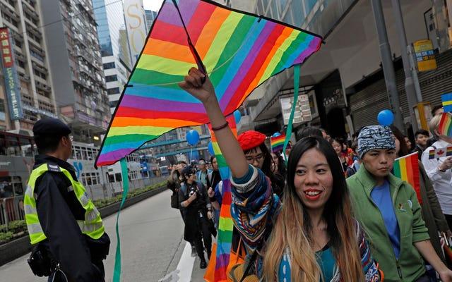 Pary tej samej płci w Hongkongu otrzymały jednakowe prawa wizowe