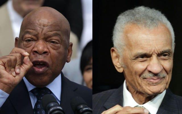Les leaders des droits civiques John Lewis et CT Vivian sont morts à quelques heures d'intervalle
