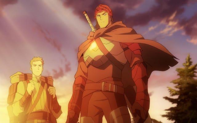 El anime Dota: Dragon's Blood de Netflix se revela en un nuevo avance