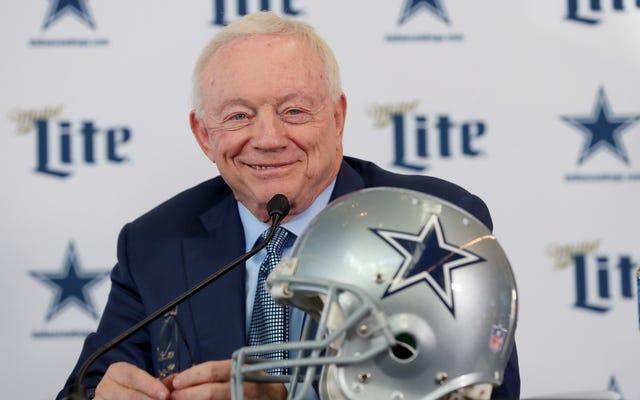 Les Cowboys de Dallas sont vraiment `` l'équipe américaine ''