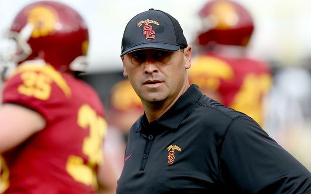 Steve Sarkisian a perdu son procès de licenciement injustifié contre USC