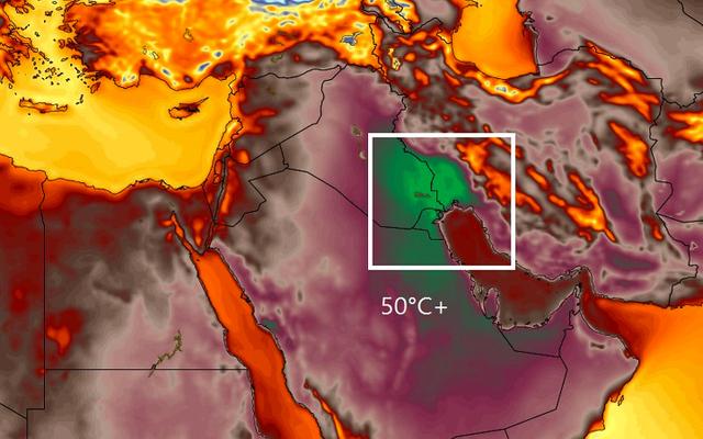 東半球の1日の熱記録が打ち砕かれたばかり