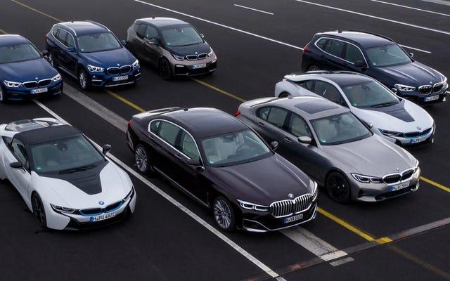 BMW dit qu'il réduira les émissions en Europe de 20%, sans indiquer comment