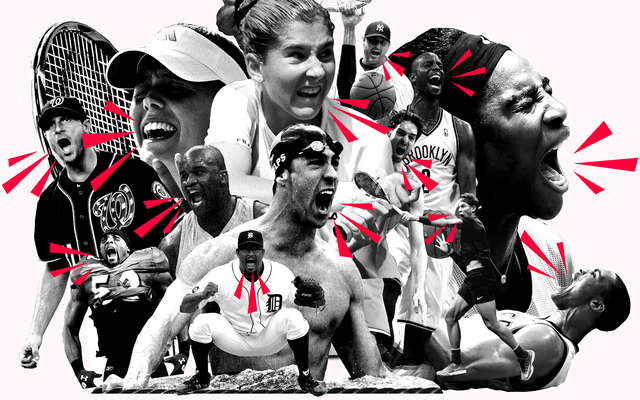 ¿Por qué gritan los atletas?